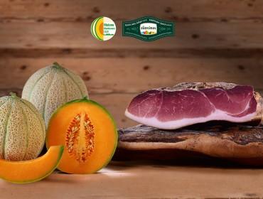 Speck Alto Adige IGP - Melone Mantovano IGP