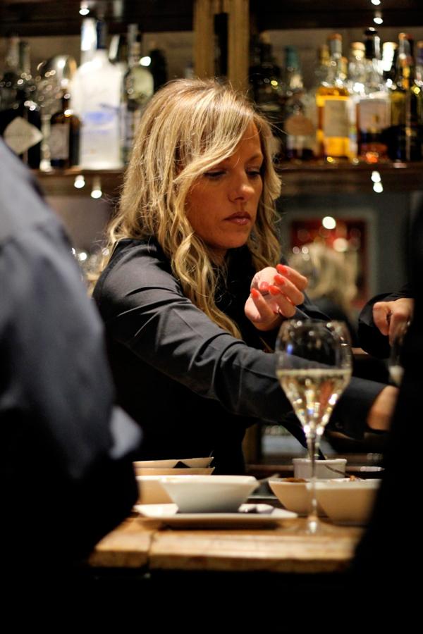 Eleonora Casagrande, socia del ristorante Bistrot Revolution
